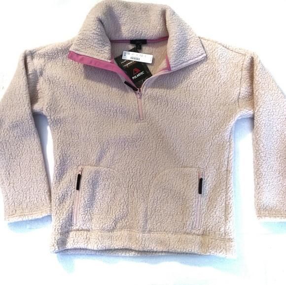 J. Crew Tops - J. Crew NWT Fleece Polartec 300 Zip Sweatshirt M L